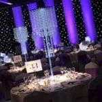 Qube Events Table Centrepieces