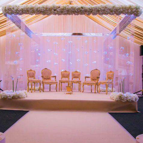 Asian Wedding mandap4