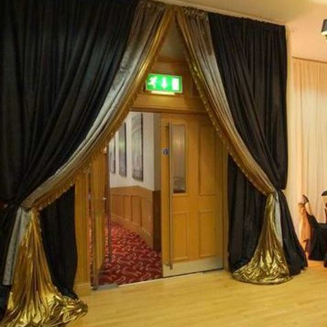 Qube Events Room Draping